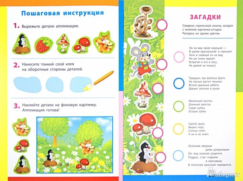 Иллюстрация 1 из 10 для По грибы, по ягоды. Книжка-вырезалка с загадками | Лабиринт - игрушки. Источник: Лабиринт