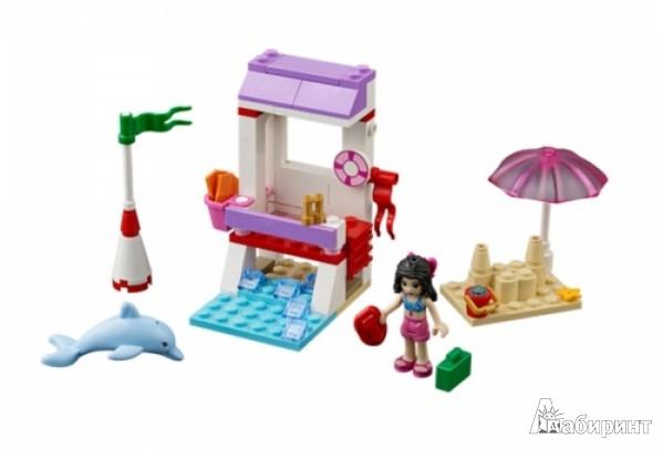 Иллюстрация 1 из 17 для Конструктор Lego Friends спасательная станция Эммы (41028) | Лабиринт - игрушки. Источник: Лабиринт