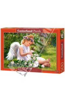 """Puzzle-500 """"Ангел в саду"""" (B-51991)"""