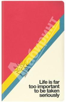 "Блокнот А6 ""QUOTES M. LIFE"" (48 страниц, линейка) (N008641)"
