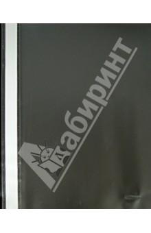 Папка-скоросшиватель A4 черная (400PF50-06)