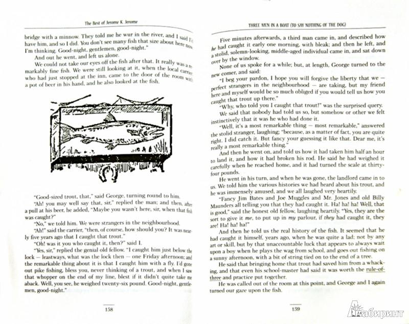 Иллюстрация 1 из 13 для The Best of Jerome K. Jerome. Three Men in a Boat. Three Men on the Bummel. Stage-Land - Джером, Jerome   Лабиринт - книги. Источник: Лабиринт