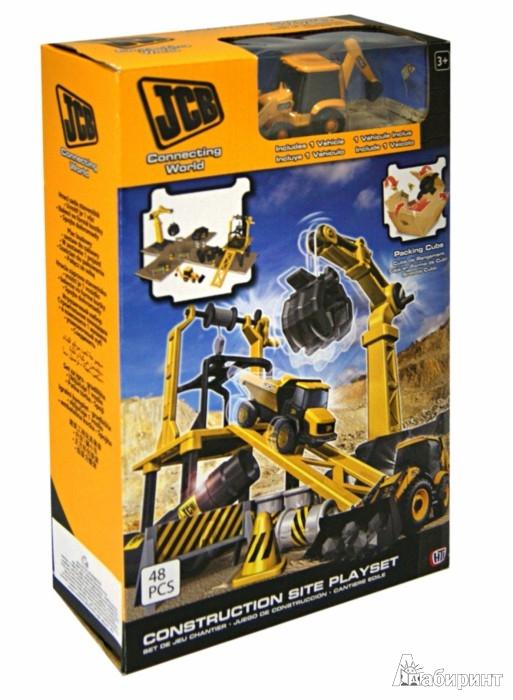 Иллюстрация 1 из 2 для Игровой набор. Стройплощадка JCB (1415700.00) | Лабиринт - игрушки. Источник: Лабиринт