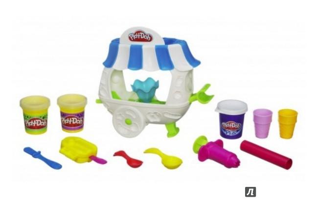 Иллюстрация 1 из 2 для Игровой набор. Вагончик мороженого (2106Е24А) | Лабиринт - игрушки. Источник: Лабиринт