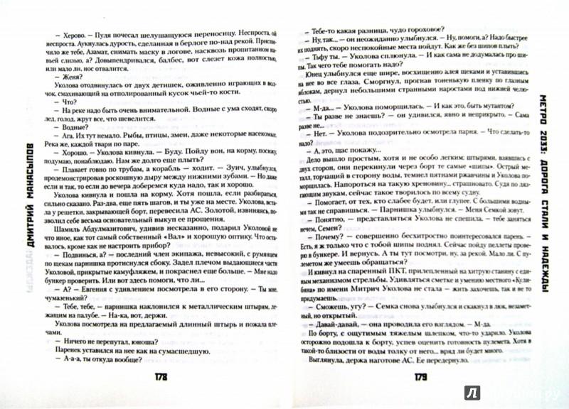 Иллюстрация 1 из 7 для Метро 2033: Дорога стали и надежды - Дмитрий Манасыпов   Лабиринт - книги. Источник: Лабиринт
