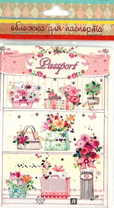 Иллюстрация 1 из 4 для Обложка для паспорта (35663) | Лабиринт - канцтовы. Источник: Лабиринт