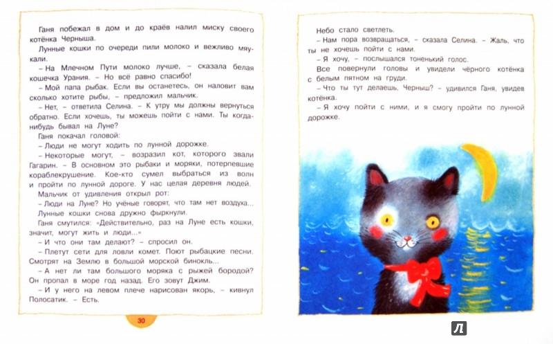 Иллюстрация 1 из 27 для Лунные кошки - Андрей Усачев   Лабиринт - книги. Источник: Лабиринт