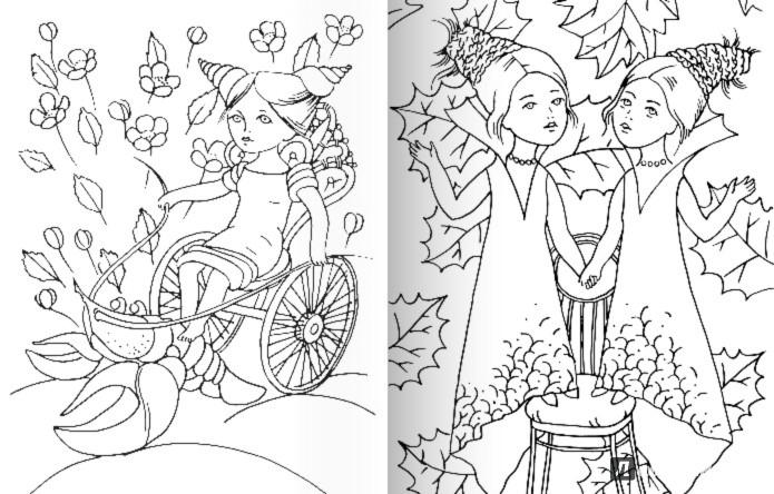 Иллюстрация 1 из 2 для Раскраска от художника Натальи Деревянко | Лабиринт - книги. Источник: Лабиринт