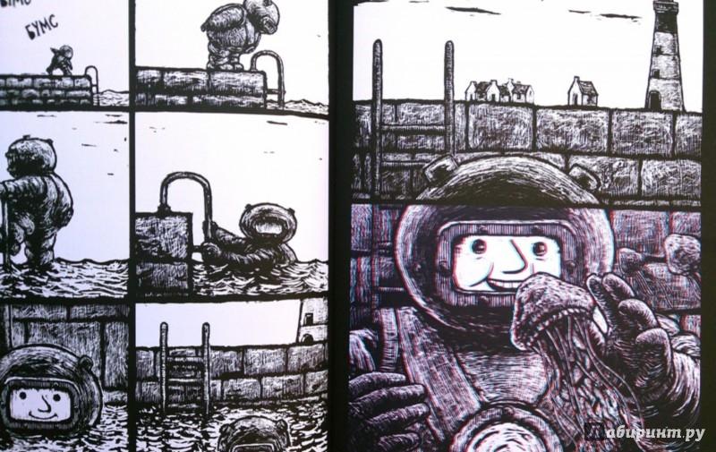Иллюстрация 1 из 15 для Джим-водолаз. Путешествие в сердце океана (+ 3D-очки) - Маттиас Пикар | Лабиринт - книги. Источник: Лабиринт