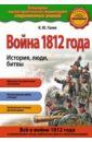 Обложка Война 1812 года. История, люди, битвы