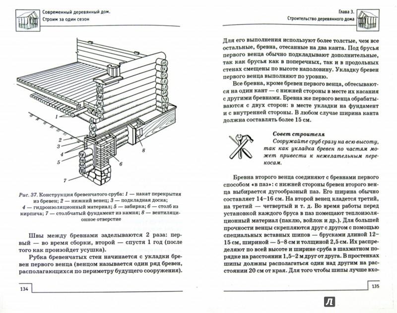Иллюстрация 1 из 15 для Современный деревянный дом: строим за один сезон - В. Котельников | Лабиринт - книги. Источник: Лабиринт