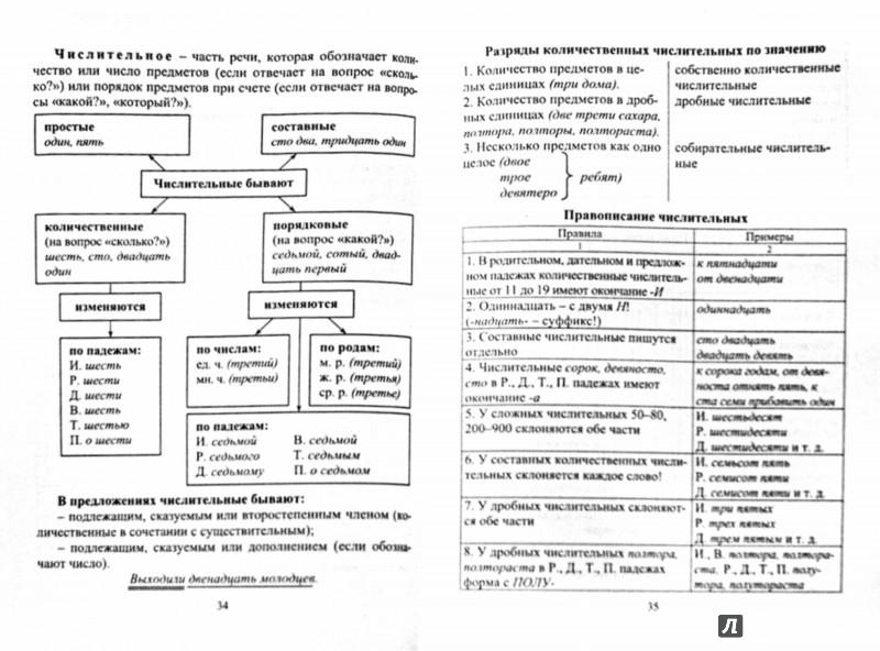 Иллюстрация 1 из 6 для Русский язык для учащихся 5-8 классов. Основные правила, образцы разбора, словарные слова | Лабиринт - книги. Источник: Лабиринт