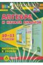 Алгебра и начала анализа. 10-11 классы. Материалы к урокам. ФГОС (CD). Гилярова Марина Геннадьевна