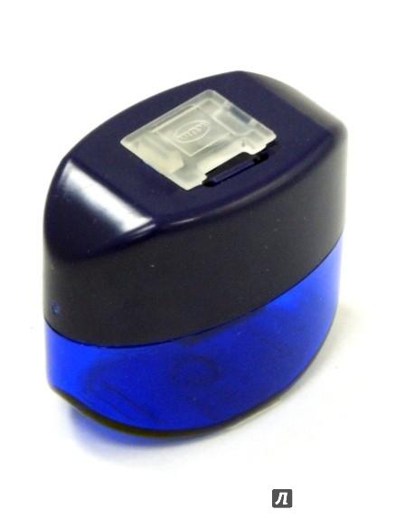 Иллюстрация 1 из 2 для Точилка одинарная с контейнером Oval-small (K-Ov-k K1)   Лабиринт - канцтовы. Источник: Лабиринт