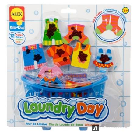 """Иллюстрация 1 из 4 для Набор для ванны """"Веселая стирка"""", 12 предметов (855)   Лабиринт - игрушки. Источник: Лабиринт"""