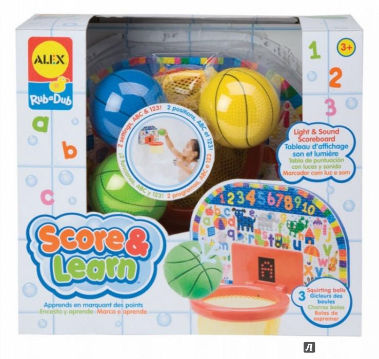 """Иллюстрация 1 из 3 для Игрушка для ванны """"Баскетбол"""" озвученная (692W)   Лабиринт - игрушки. Источник: Лабиринт"""
