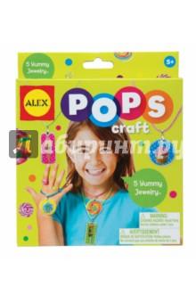 Набор для творчества Украшения любимые сладости (1291) alex набор для творчества pops craft укрась 5 леденцов alex