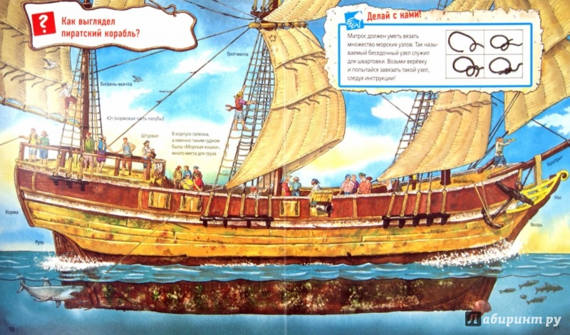 Иллюстрация 1 из 18 для Пираты | Лабиринт - книги. Источник: Лабиринт