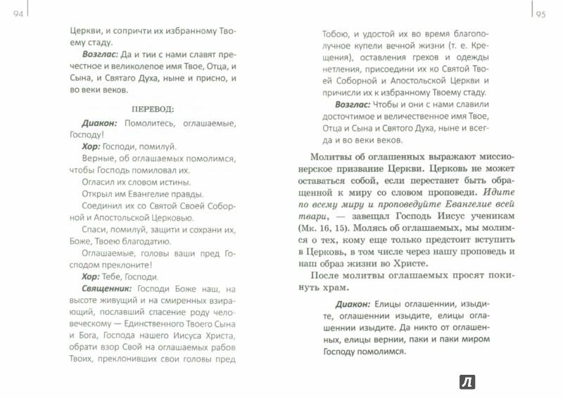 Иллюстрация 1 из 14 для Божественная литургия с переводом и объяснениями - Андрей Протоиерей | Лабиринт - книги. Источник: Лабиринт