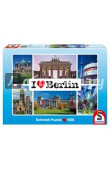 Пазл-1000 Я люблю Берлин (59281) паззл schmidt 1000эл 693 493мм schwerin castle