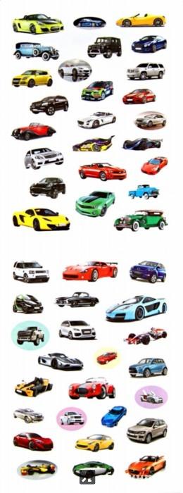 Иллюстрация 1 из 10 для 100 наклеек. Лучшие машины | Лабиринт - книги. Источник: Лабиринт