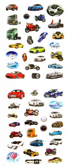 Иллюстрация 1 из 5 для 100 наклеек. Мир транспорта   Лабиринт - книги. Источник: Лабиринт