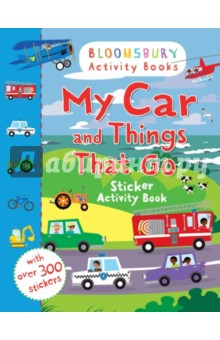 My Car and Things That Go Sticker Activity Book my abc sticker activity book