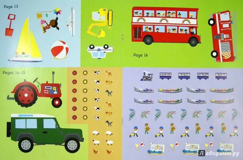 Иллюстрация 1 из 8 для My Car and Things That Go Sticker Activity Book | Лабиринт - книги. Источник: Лабиринт