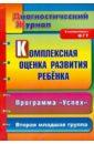 Обложка Комплексная оценка развития ребенка по программе