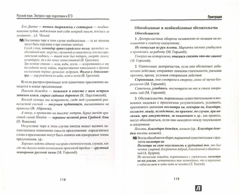 Иллюстрация 1 из 8 для Русский язык: экспресс-курс подготовки к ЕГЭ - Гайбарян, Кузнецова | Лабиринт - книги. Источник: Лабиринт
