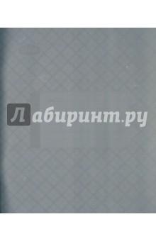 Тетрадь 12 листов, узкая линейка, пластиковая обложка, сиреневая (120109)
