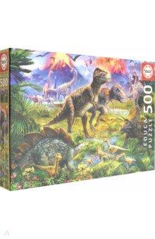 """Пазл-500 """"Встреча динозавров"""" (15969)"""