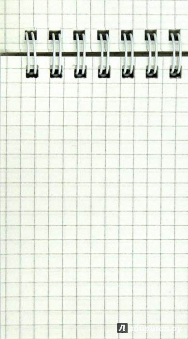 Иллюстрация 1 из 10 для Блокнот ЦВЕТЫ НА БЕЛОМ (80 листов, А6, клетка, гребень) (731154-76) | Лабиринт - канцтовы. Источник: Лабиринт
