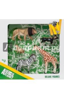 Набор игровых фигур Animal Planet  (5 штук, Дикие животные) (387302) автокосметика