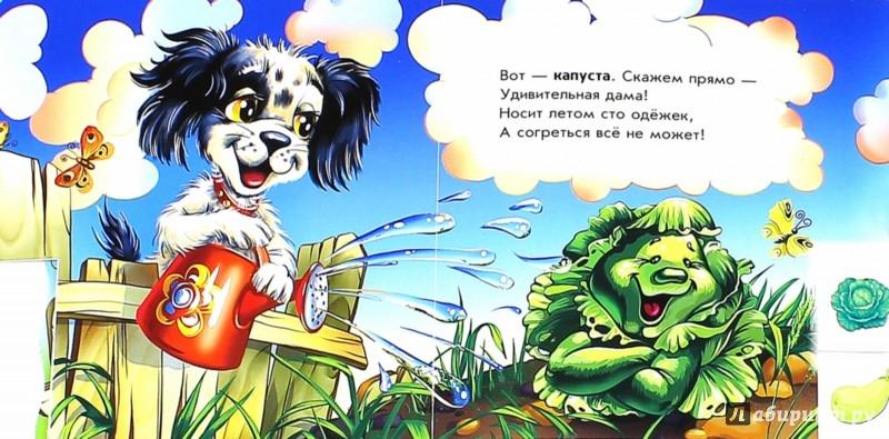Иллюстрация 1 из 7 для Веселый огород - Ирина Солнышко | Лабиринт - книги. Источник: Лабиринт