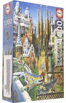 Пазл-1000 Коллаж, миниатюра (11874) пазлы educa пазл коллаж миниатюра 1000 элементов