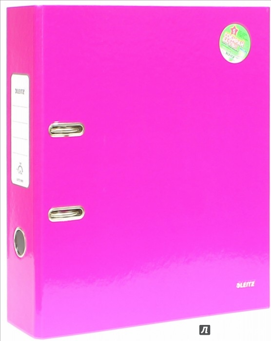 Иллюстрация 1 из 4 для Папка с арочным механиз A4 (80 мм, розовая) (1005-00-23) | Лабиринт - канцтовы. Источник: Лабиринт