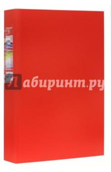 Папка на 2-х кольцах A4 (25 мм, красная) (14451)