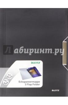 Папка с резинкой (А4, черная сталь) (3977-00-94) Leitz