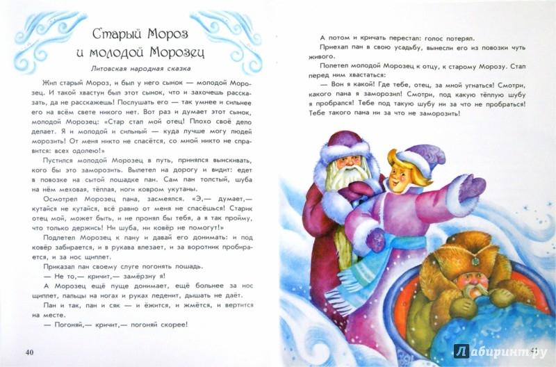 Иллюстрация 1 из 8 для Волшебные истории Бабушки Зимы | Лабиринт - книги. Источник: Лабиринт
