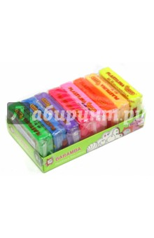 Пластилин флуоресцентный. 8 штук. 50 грамм. В картонной коробке (В70108F)