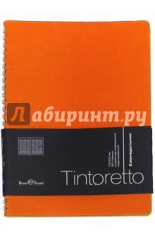 """Еженедельник недатированный """"Tintoretto"""" (В5, оранжевый) (3-513/07)"""