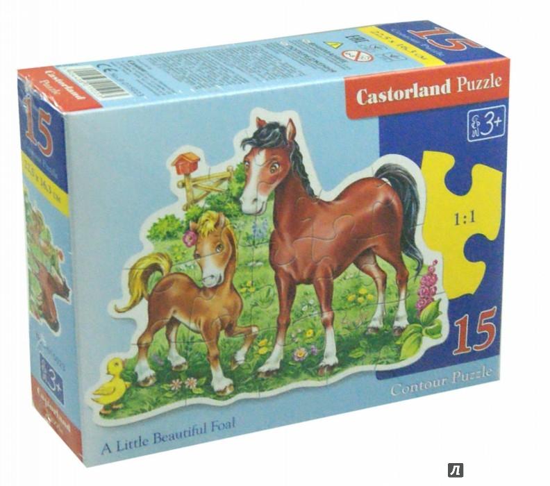 Иллюстрация 1 из 14 для Puzzle - 15. Жеребенок  (B-015023) | Лабиринт - игрушки. Источник: Лабиринт