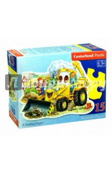 Puzzle-15. Трактор  (B-015047)