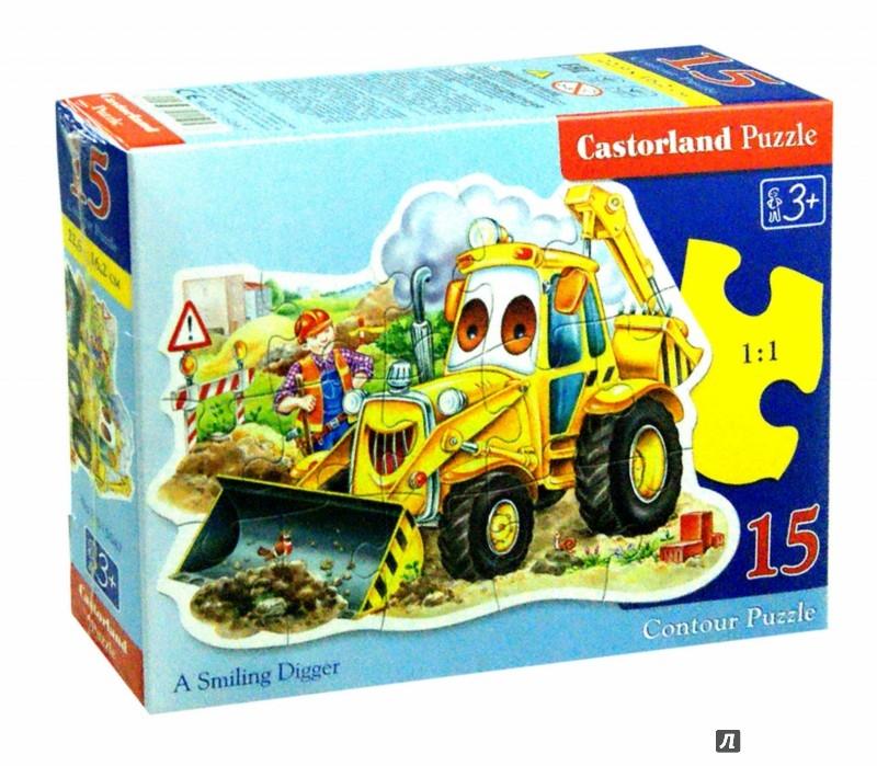 Иллюстрация 1 из 10 для Puzzle-15. Трактор  (B-015047) | Лабиринт - игрушки. Источник: Лабиринт