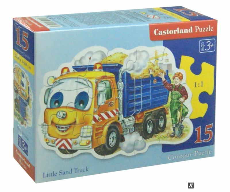 Иллюстрация 1 из 7 для Puzzle - 15. Грузовик (B-015061) | Лабиринт - игрушки. Источник: Лабиринт