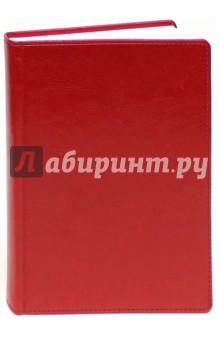 Ежедневник недатированный, Небраска, А6, красный (799106259) ежедневник успешной женщины красный беж блок недат 2 е изд
