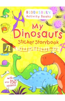 My Dinosaurs Sticker Storybook write your own book