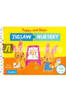 Poppy and Skip's Jigsaw Nursery (board book) the jigsaw man