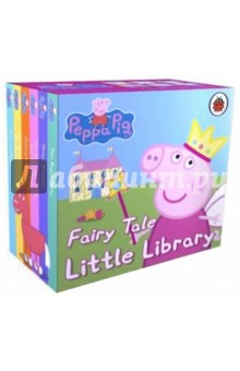 Peppa Pig. Fairy Tale Little Library little library 6 books